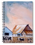 Illinois Farm Spiral Notebook