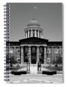 Illinois Old State Capital Building Spiral Notebook