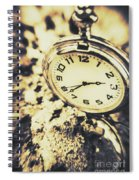 Illusive Time Spiral Notebook