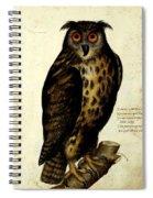 Illustration For A Book By Ulisse Aldrovandi Spiral Notebook