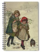 Illustration From Christmas Tree Fairy Spiral Notebook