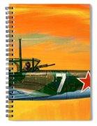 Ilyushin II 2m3 Russian Ground Attack Aircraft Spiral Notebook