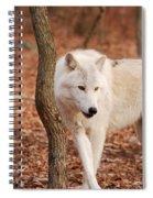 I'm A Wolf Spiral Notebook