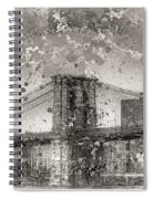 Im Selling The Brooklyn Bridge Or At Least A Photo Of It  Spiral Notebook
