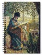 Image 348 Claude Oscar Monet Spiral Notebook