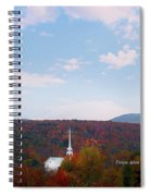 Image Included In Queen The Novel - New England Church Enhanced Spiral Notebook