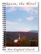 Image Included In Queen The Novel - New England Church Enhanced Poster Spiral Notebook