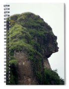 Image Of A Woman Spiral Notebook