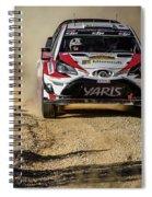 imagejunky_KB - RallyRACC WRC Spain - Esapekka Lappi / Janne Ferm Spiral Notebook
