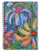 Imaginary Flowers Spiral Notebook