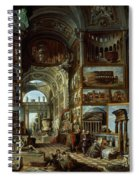 Imaginary Gallery Of Views Of Ancient Rome Spiral Notebook