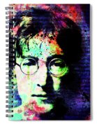 Imagination Of A Song Man Spiral Notebook