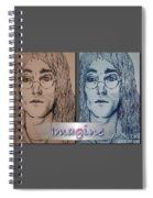 Imagine Again Spiral Notebook