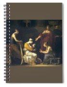 img088 Pierre-Paul Prudhon Spiral Notebook