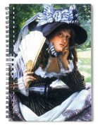 img232 Jacques Joseph Tissot Spiral Notebook