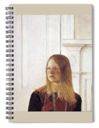 img617 Andrew Wyeth Spiral Notebook
