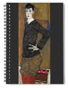 img804 Egon Schiele Spiral Notebook