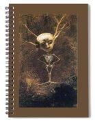 img849 Odilon Redon Spiral Notebook