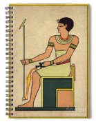 Imhotep, Egyptian Polymath Spiral Notebook