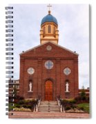 Immaculate Conception Chapel - University Of Dayton Spiral Notebook