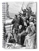 Immigrant Ship Spiral Notebook