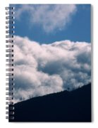 Imminent Judgment - San Rafael Mountains Spiral Notebook