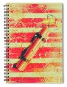 Impact Blast Spiral Notebook