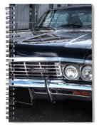 Impala - Supernatural Spiral Notebook