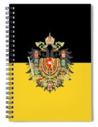 Habsburg Flag With Imperial Coat Of Arms 1 Spiral Notebook