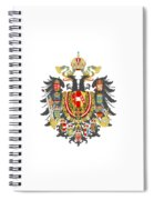 Imperial Coat Of Arms Of The Empire Of Austria-hungary Transparent Spiral Notebook
