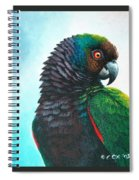 Imperial Parrot Spiral Notebook
