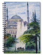 Imperial Sultanahmet Mosque Istanbul Turkey 2006  Spiral Notebook
