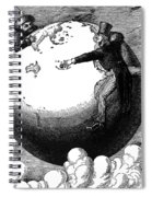 Imperialism Cartoon, 1876 - To License For Professional Use Visit Granger.com Spiral Notebook
