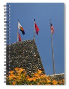 Imposing Flags Spiral Notebook