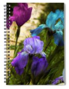 Impossible Irises Spiral Notebook