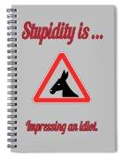 Impressing Bigstock Donkey 171252860 Spiral Notebook