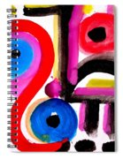 Impression #50 Spiral Notebook