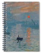 Impression Sunrise Spiral Notebook