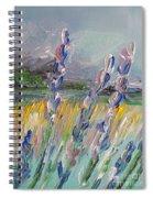 Impressionism Fantasy Field Spiral Notebook