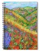 Impressionism- Flowers- Dreaming Of Spring Spiral Notebook