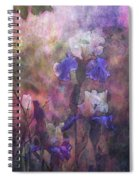 Impressionist Purple And White Irises 6647 Idp_2 Spiral Notebook