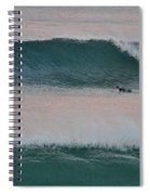 Impressionist Surfing  Spiral Notebook