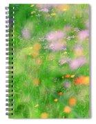 Impressionistic Blossom 5 At Britain Park Spiral Notebook