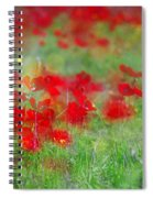 Impressionistic Blossom Near Shderot Spiral Notebook