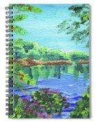 Impressionistic Landscape Xx Spiral Notebook