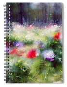 Impressionistic Photography At Meggido 2 Spiral Notebook