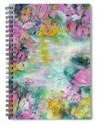 Impressions Of Spring Spiral Notebook