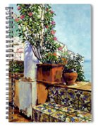Impressions Of The Riviera Spiral Notebook