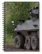 In A Corner - Cougar Avgp Spiral Notebook