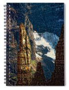 In A High Place Impasto Spiral Notebook